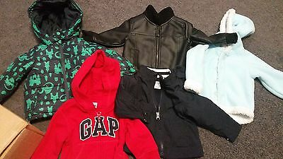 Bulk Baby Boy Jackets / Clothes Size 0 - Ralph Lauren, GAP and More