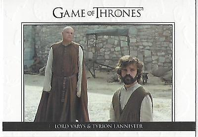 Game of Thrones Season 6 Six Relationships Gold DL31 #250