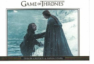 Game of Thrones Season 6 Six Relationships Gold DL32 #250
