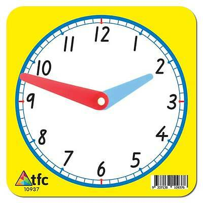 Clock 12hr Student (1 Piece) Math Teacher Resource Educational Teaching C school