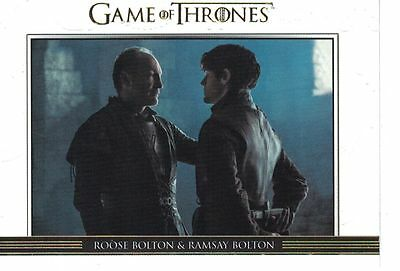 Game of Thrones Season 6 Six Relationships Gold DL36 #250