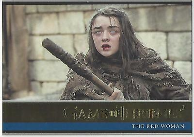 Game of Thrones Season 6 Six Base Parallel Gold 03 #043/150