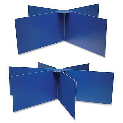 """Pacon Round Table Privacy Baord 48""""x14"""" Blue 3788"""