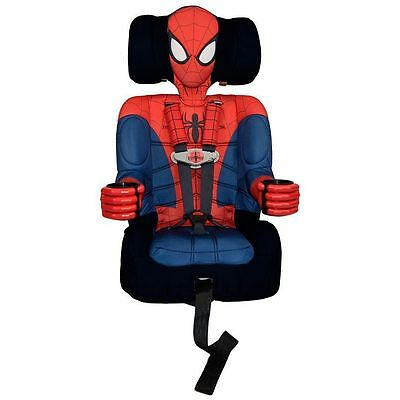FACTORY NEW Kids Embrace Spiderman Toddler Booster Car Seat