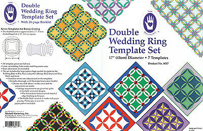 Double Wedding Ring Template Set
