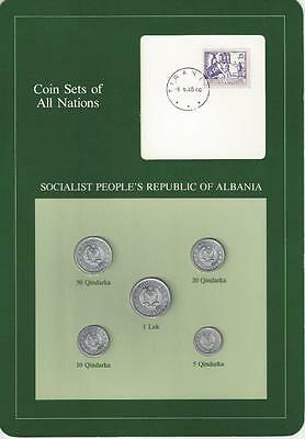 Coin Sets of All Nations, Albania