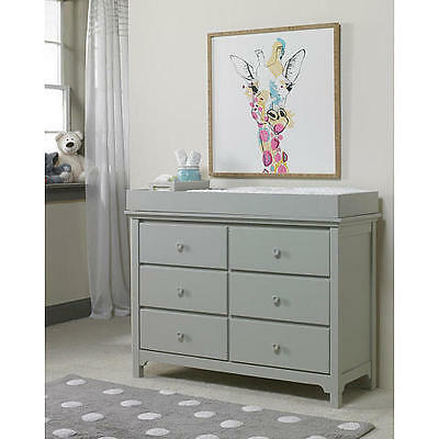 Ti Amo RTA Changing Table Topper - Misty Grey
