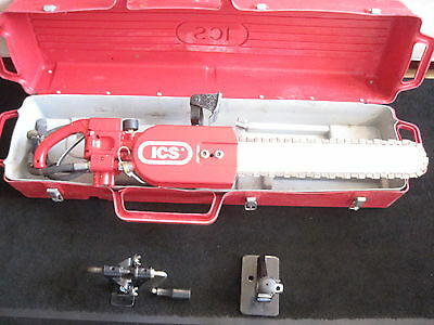 """ICS Concrete Chainsaw Model 853 With 19"""" Bar and Chain"""