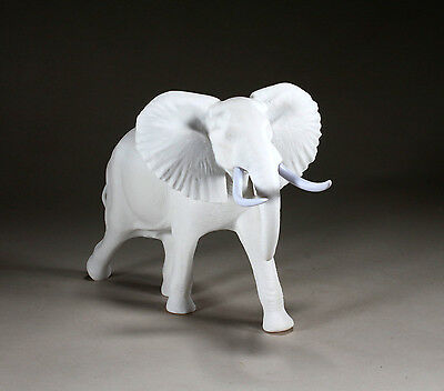 Elephant Sculpture New Direct from John Perry Pellucida 7in Tall Statue Decor