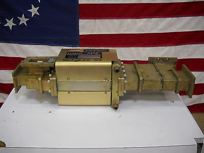 2856 MHZ Water Cooled Waveguide Isolator Varian P/N 829709-01