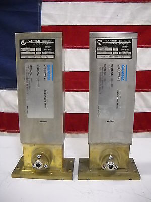 2856 MHZ RF Microwave Waveguide Wattage Load Assembly Varian 829552-01 Lot of 2