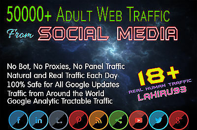Drive 50k Adult Traffic From Social Media