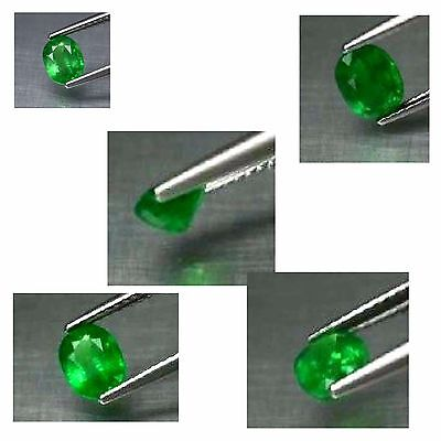 1.08ct 7x5.5mm Oval Natural Vibrant Green Tsavorite Garnet, Tanzania