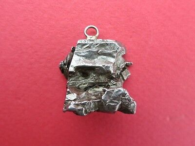 Iron Meteorite Jewelry Pendant: 13 -15 grams