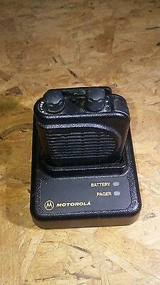 Motorola Minitor III (3) 151 - 159 MHz  Pager w/Charger Base and Adapter