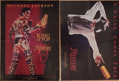 Michael Jackson poster LARGE from BW Magazine Mystery