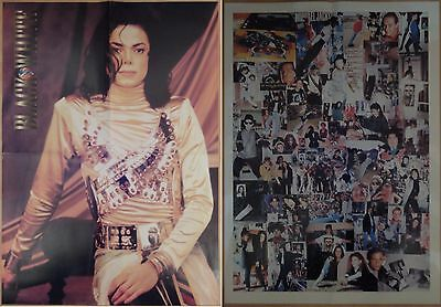 Michael Jackson poster LARGE from BW Magazine Dangerous Remember The Time