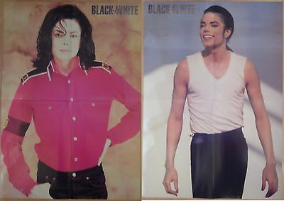 Michael Jackson poster LARGE from BW Magazine Dangerous In The Closet (2)