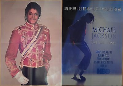 Michael Jackson poster LARGE from BW Magazine HBO One Night Only Thriller