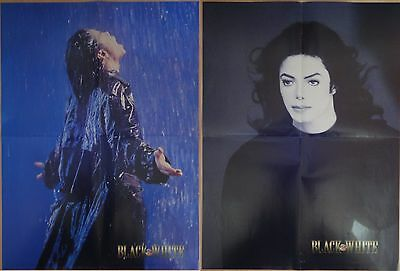 Michael Jackson poster LARGE from BW Magazine Stranger In Moscow HIStory