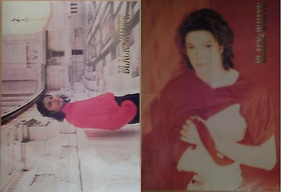 Michael Jackson poster LARGE from BW Magazine BAD History Earth Song