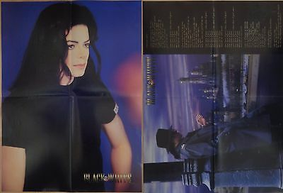Michael Jackson poster LARGE from BW Magazine Stranger In Moscow HIStory (2)