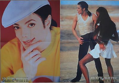 Michael Jackson poster LARGE from BW Magazine Dangerous In The Closet