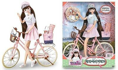 "Korean Doll  Mimi  ""2017 NEW""  Bicycles in the river"