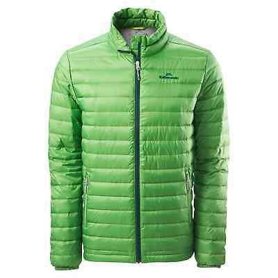 Kathmandu Heli Mens Lightweight Duck Down Coat Warm Puffer Jacket v2 Green