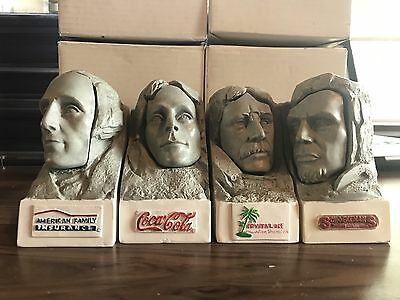Mount Rushmore Bobblehead Set Sioux Falls Canaries  Lincoln Washington Jefferson