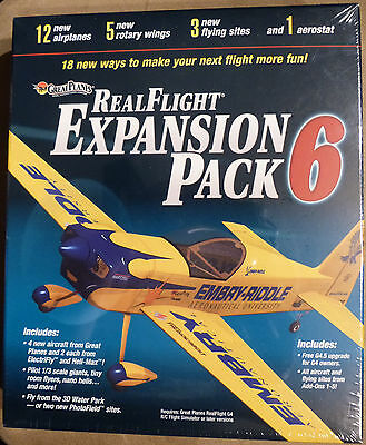 Great Planes RealFlight Expansion Pack 6    NEW and SEALED