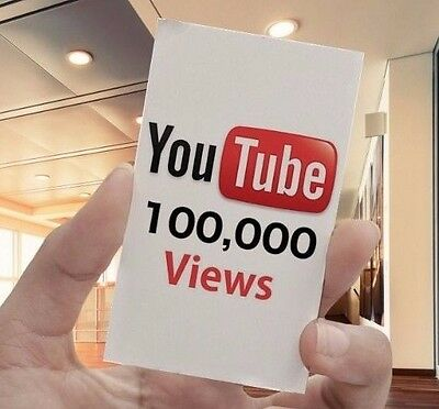 YouTube Voucher - 100,000 Video View (Fast Delivery)