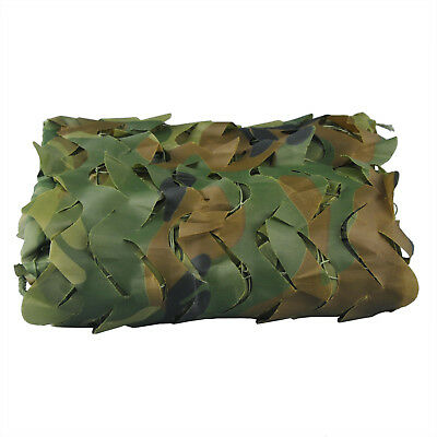 3X5M Woodlands Blinds Camouflage Netting Camo Net Army Camping Military Hunting
