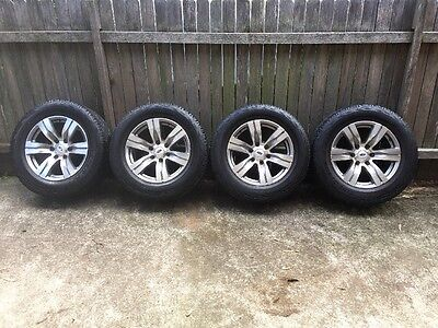 "Ford Ranger PK Wildtrak 18"" Wheels & Cooper Tyres also fit PX"