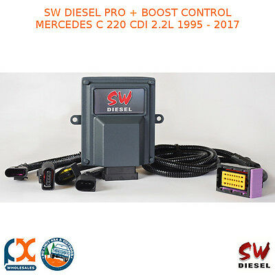 Sw Diesel High Performance Chips Pro+Boost Control Mercedes C 220 Cdi 2.2L 95-17