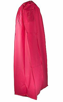 "Wedding Gown Gusseted Garment Bag - 20"" Gusset for Large Bridal and Prom Dresses"