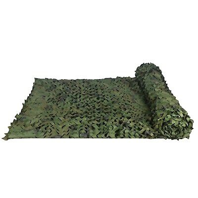 1.5x3M  Woodlands Leaves Camo Net Camouflage Netting  Camping Military Hunting