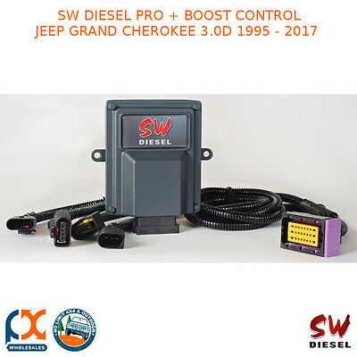 Sw Diesel High Performance Chips Pro+Boost Control Jeep Grandcherokee 3.0D 95-17