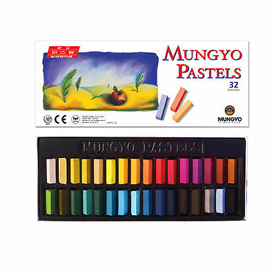 Mungyo Soft Pastels 32 colors Vivid Color For Artist