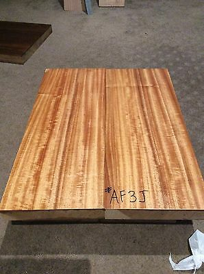 African Mahogany Quarter Sawn Guitar Body Blank. Luthier, Craft. Timber.