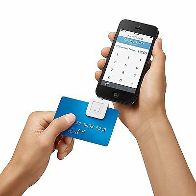 Mobile Debit Credit Card Reader Smartphone Square Swipe Payment Apple Android