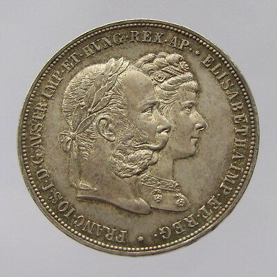 Austria, silver wedding of Franz Joseph, 1879, EF