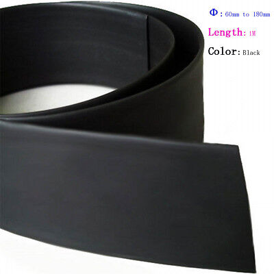 Dia 60-180mm Heat Shrink 2:1 Shrinkable HeatShrink Tube Tubing Wire Sleeve Wrap