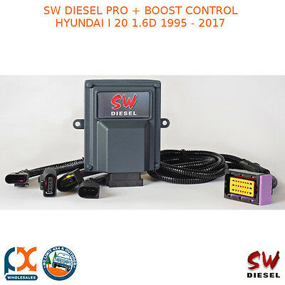 Sw Diesel High Performance Chips Pro + Boost Control Hyundai I 20 1.6D 1995-2017
