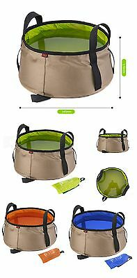 Portable Outdoor Travel Folding Water Bucket Washbowl Water Pot Hiking Camping