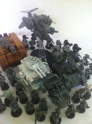 Warhammer 40k Huge Space Marines Army Ready To Paint Games Workshop Models !!!