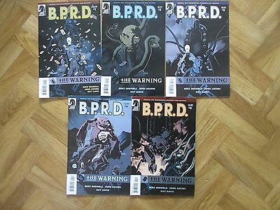 B.p.r.d The Warning 1 To 5 Complete Set Mignola Very Fine  (W4)