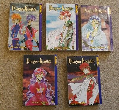 Dragon Knights Manga Volumes 1, 2, 3, 4 and 5