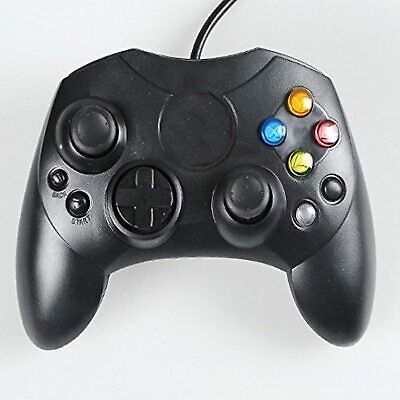 Generic Xbox Controller Black Color Wired Very Good Xbox Original 5Z