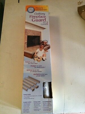 NEW Prince Lionheart Cushiony Fireplace Guard plus 2 corners Baby Child safety